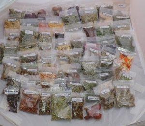 Las hierbas y las resinas sus propiedades mágicas de limpieza