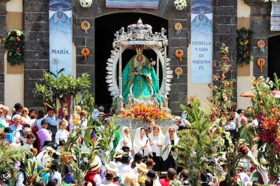 La virgen María de Guía y su festividad