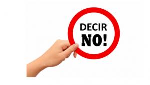 Aprender a decir «NO»